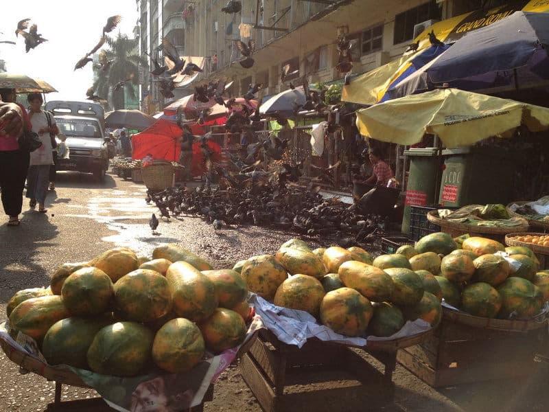 Momentka z Barmy