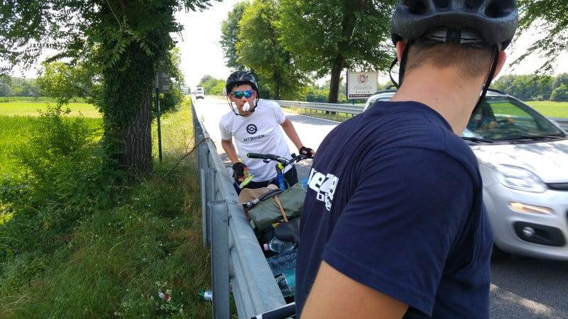 Bratislava - Rím na bicykloch