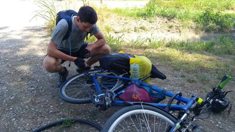 Bratislava - Rím na bicykli