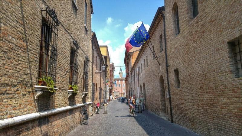 HorSa do Ríma na bicykli