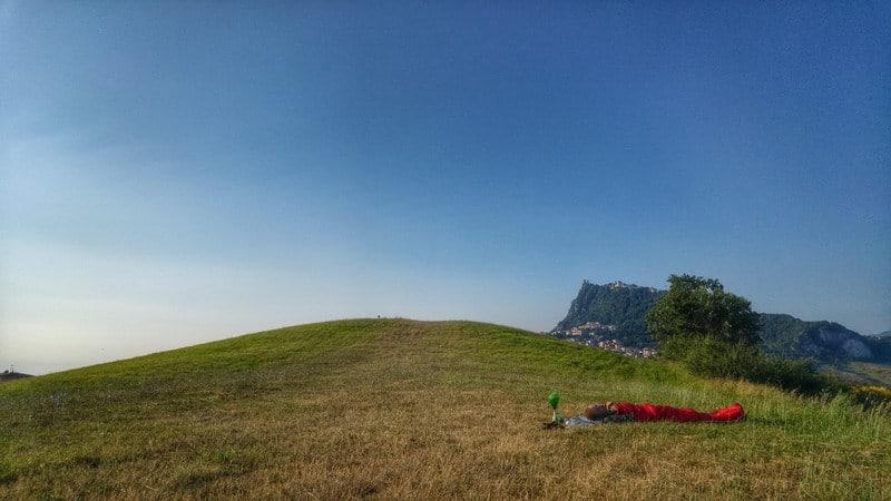HorSa do Ríma - kempovanie na kopci