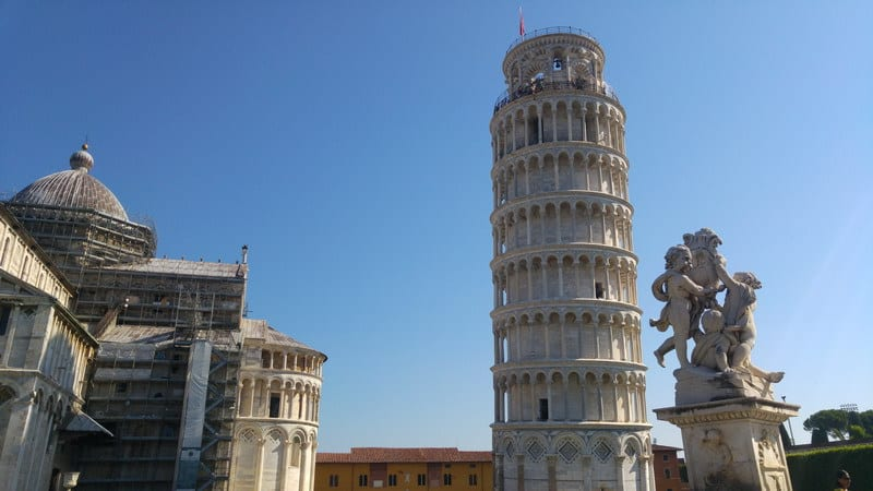 HorSa do Ríma - zastávka v Pise
