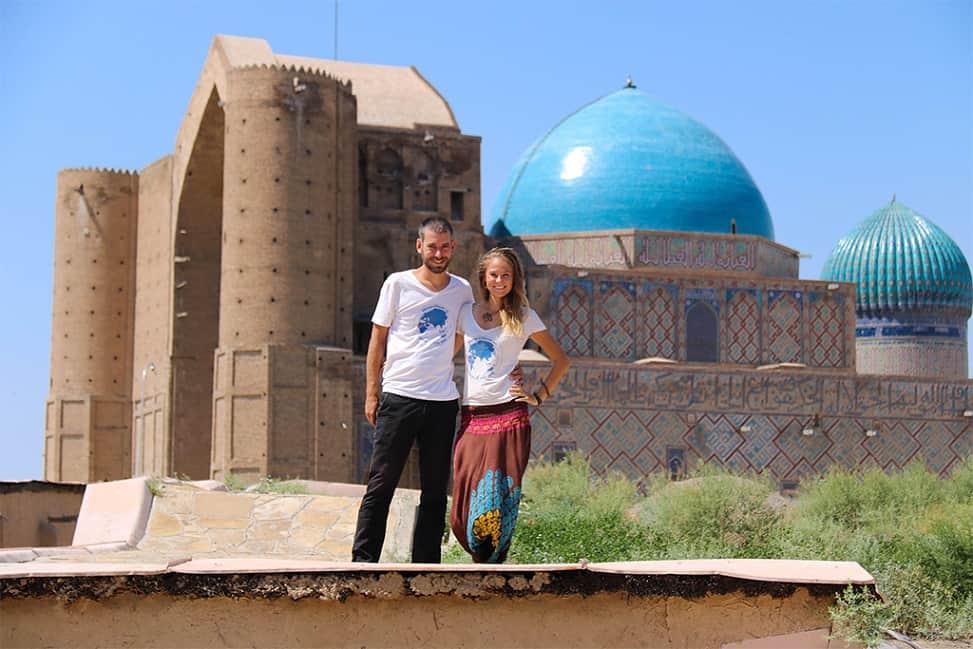 Kazachstan - mauzóleum Khodja Ahmed Yasawi