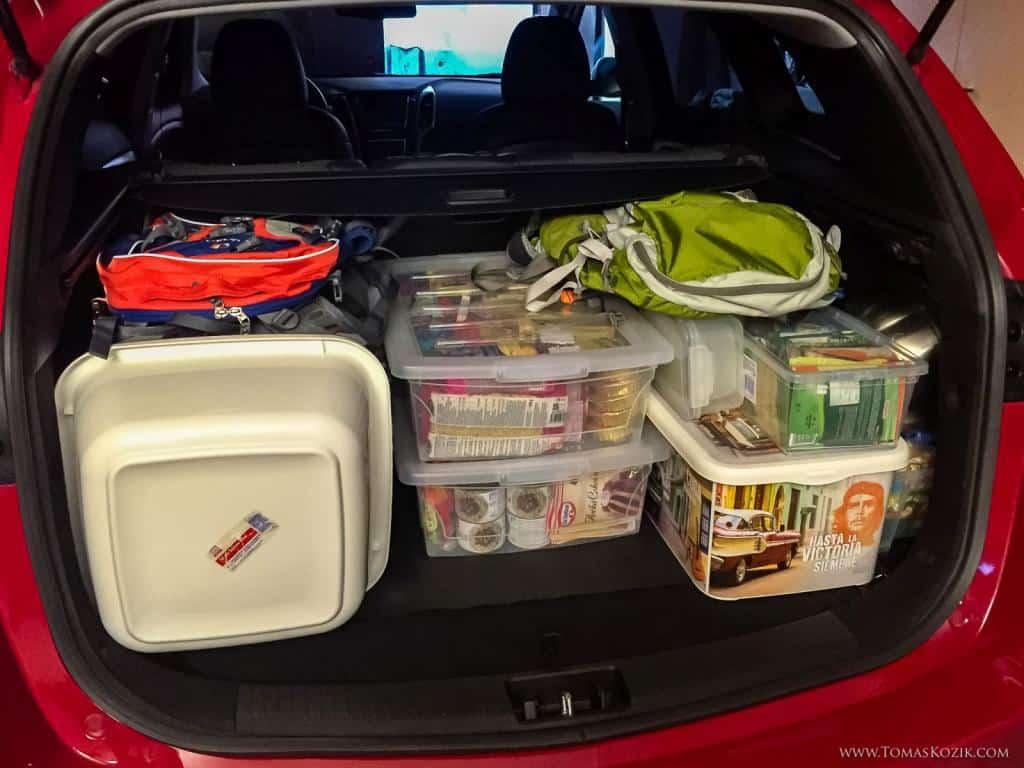Ako si zbaliť jedlo na cestu do auta, Vista travellers