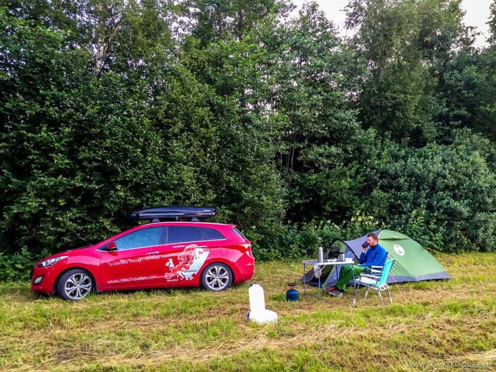 Vista travellers: kempovanie v prírode počas cesty k Nordkappu