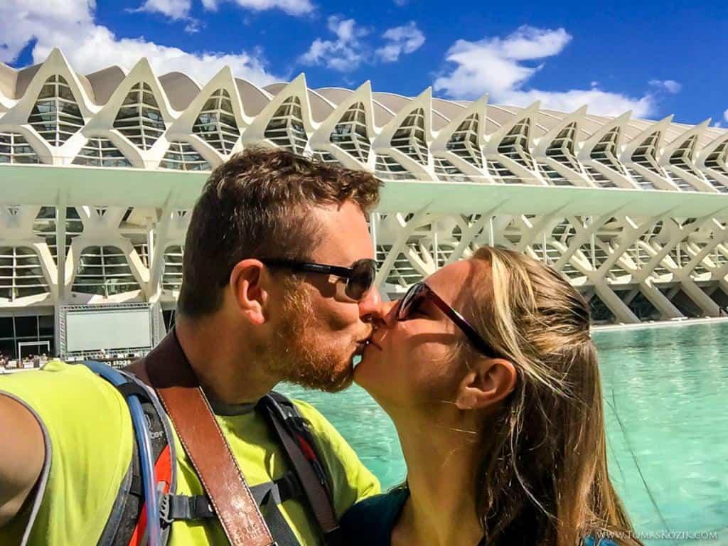 Vista travellers vo Valencii počas cesty ku Gibraltáru
