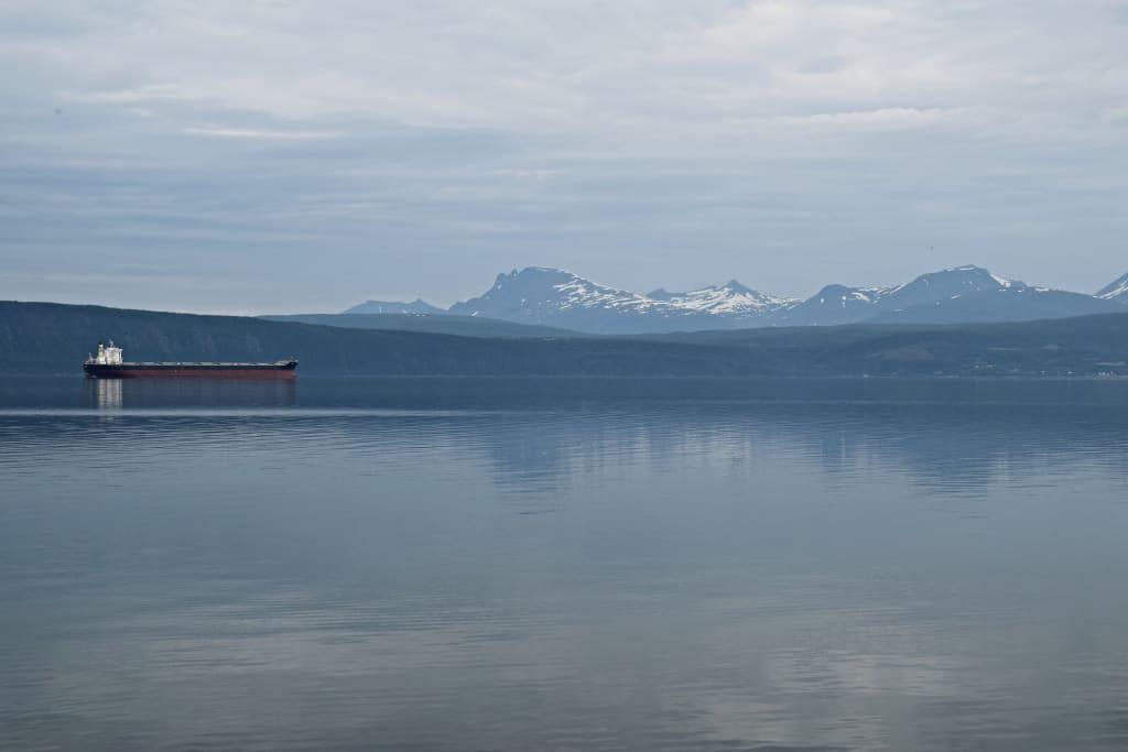 Najsevernejšia časť pevninskej Európy, Nórsko počas expedície na babetách