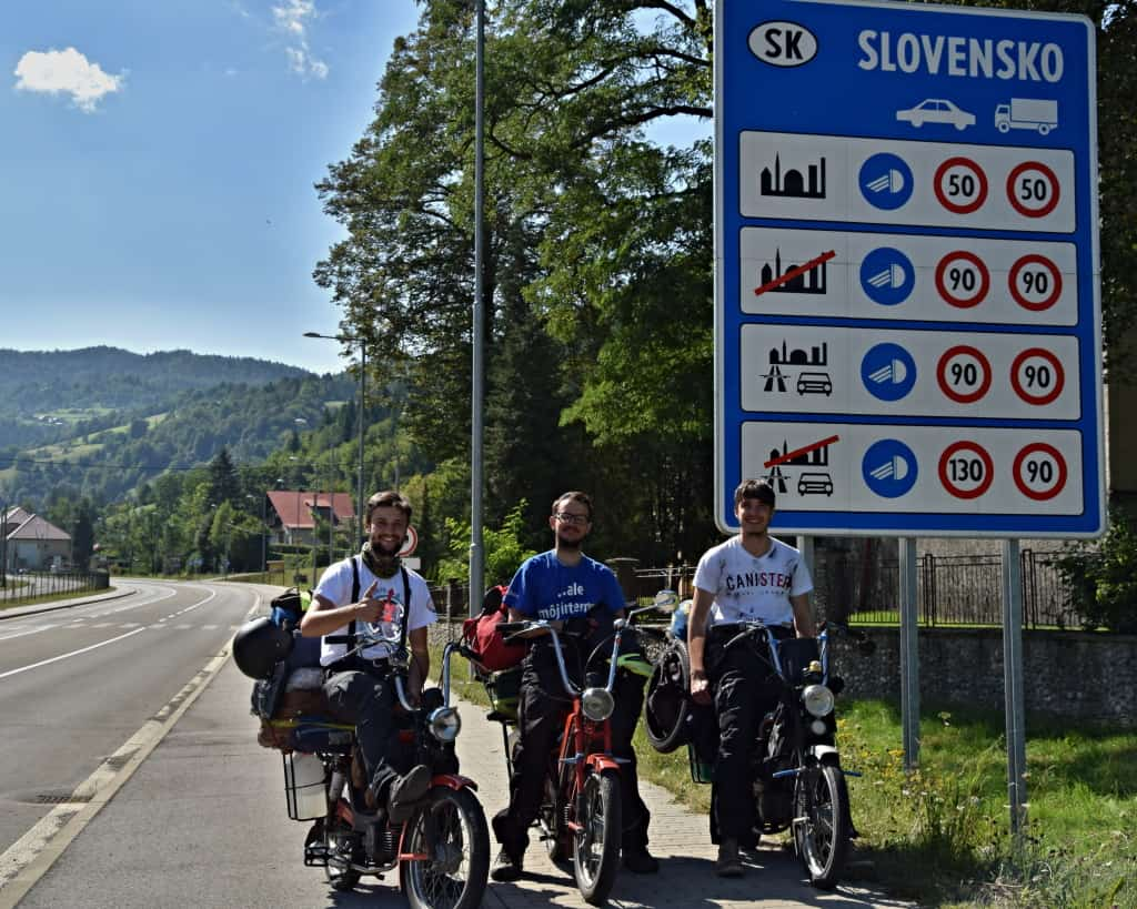 Ukončenie expedíce za severný polárny kruh, Slovensko