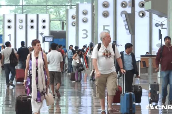 najlepšie letisko sveta Singapur
