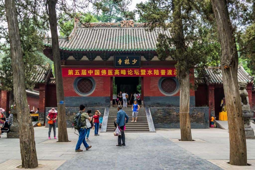 Budhistický chrám Šaolin, Čína