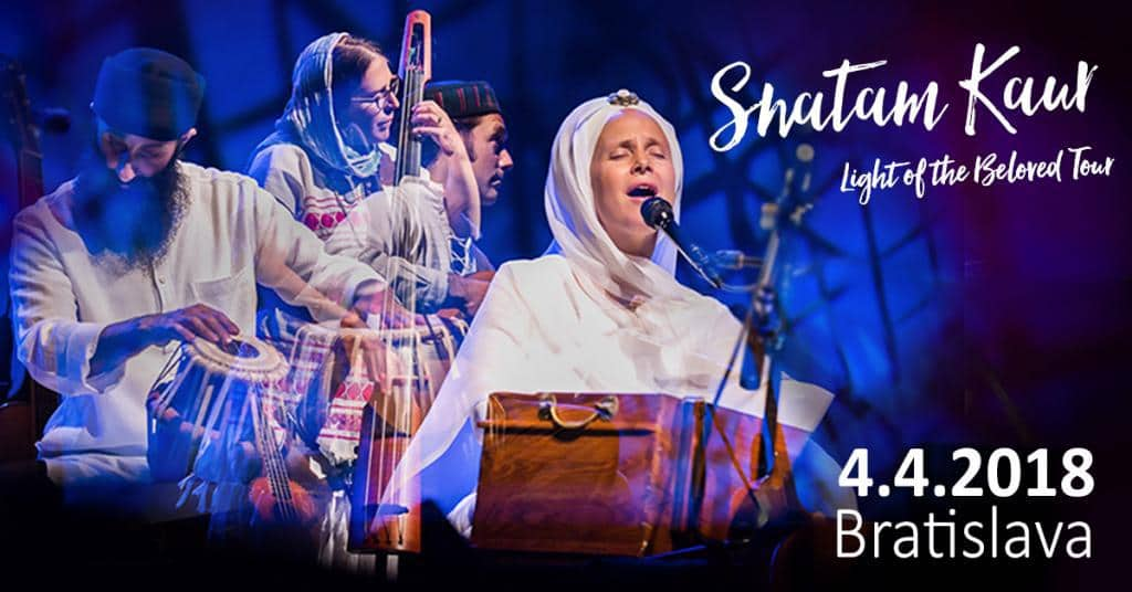 Koncert Snatam Kaur v Bratislave