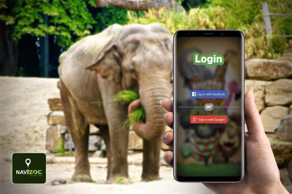 Navigácia v Zoo pomocou slovenskej aplikácie Navizoo