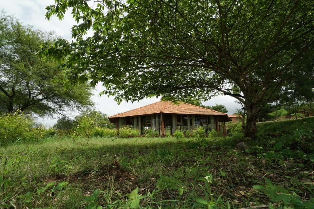 AyurYoga Eco Ashramv indickom štáte Karnataka