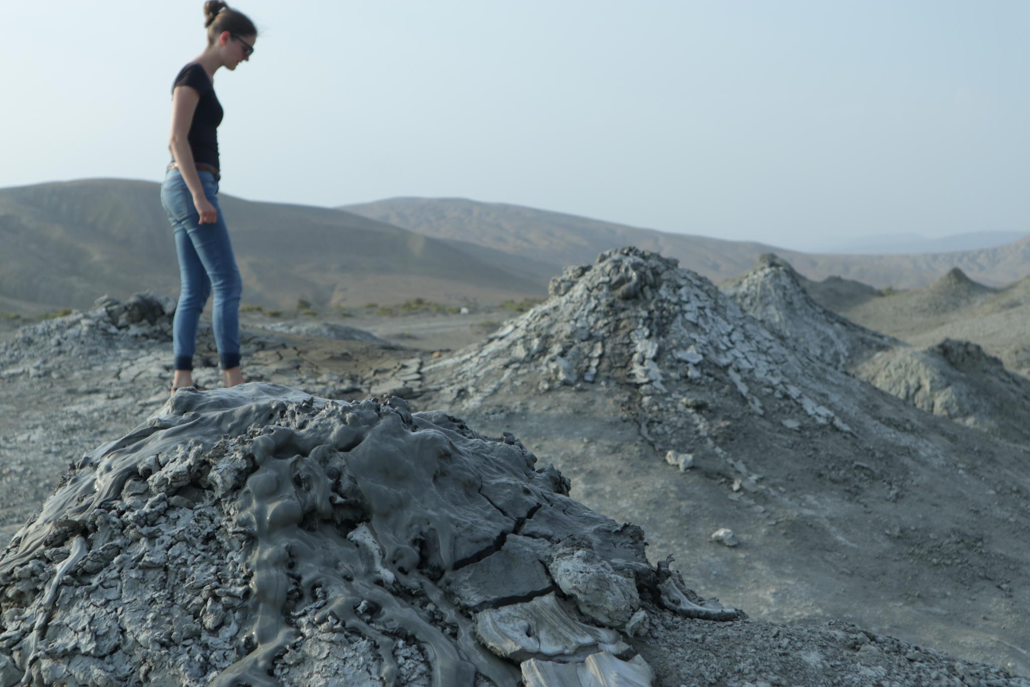 Bahenné sopky v Qobustan, Azerbajdžan
