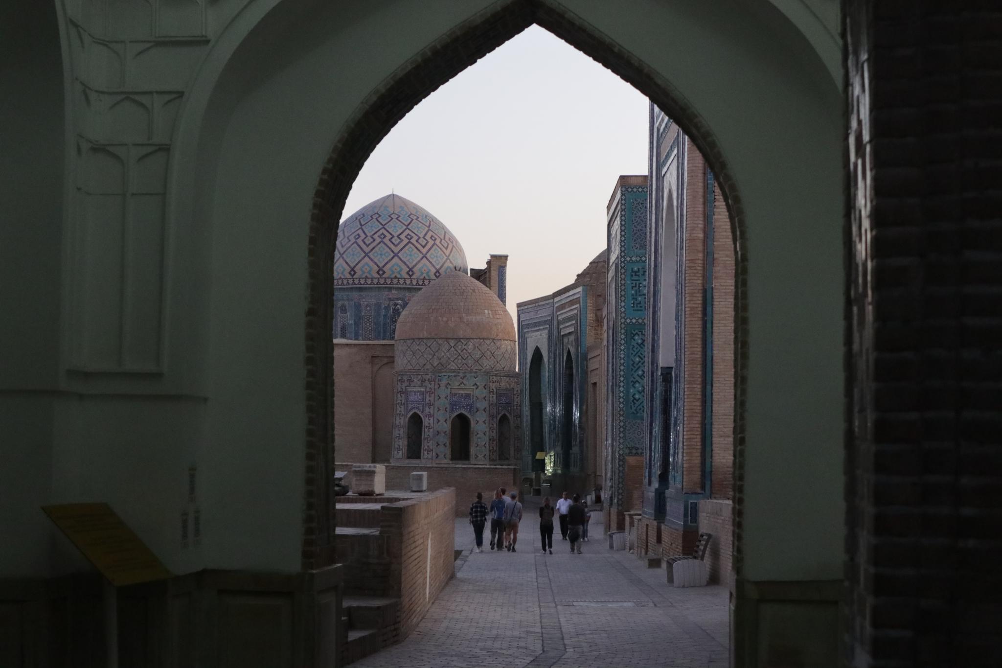 Nekropola Shahi Zinda, Samarkand, Uzbekistan