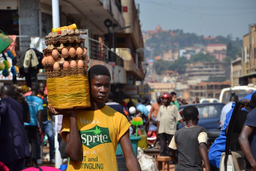 Stanislav Kaľavský – na ulici v Kampale